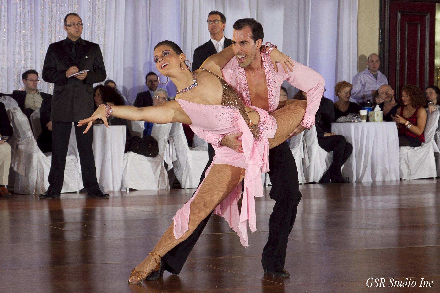 Couple professionnel Mathieu Casavant et Mélanie Martin